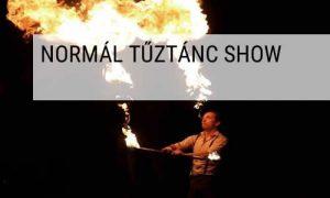 Hestia tűztánc normál tűztánc show
