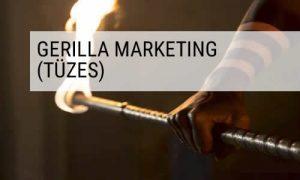 Hestia tűztánc gerilla marketing szolgáltatás