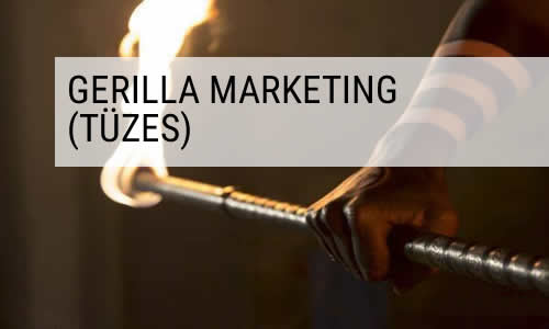 tűzzsonglőr gerilla marketing