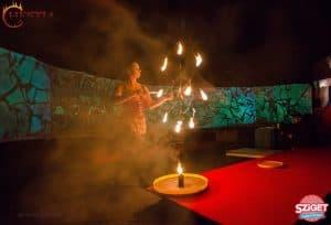 tűzzsonglőr sziget fesztivál