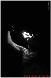 Hestia tűztánc tűznyelés