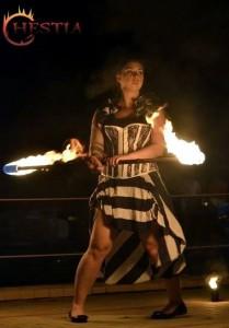 Hestia tűztáncos