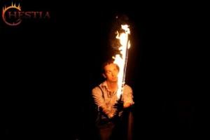 Hestia tűzzsonglőr