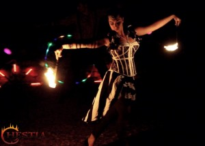 Hestia tűzzsonglőr Zsaklin