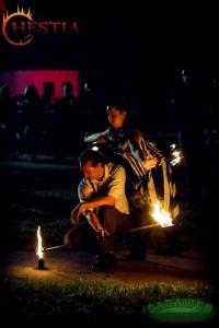Hestia tűztánc Szücsi és Zsaklin