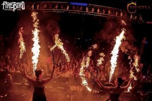 Hestia tűzzsonglőr nagyobb show